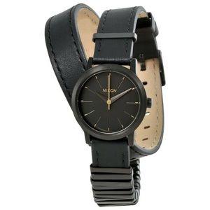 Nixon Women's Matte Black Kenzi Wrap SS Watch